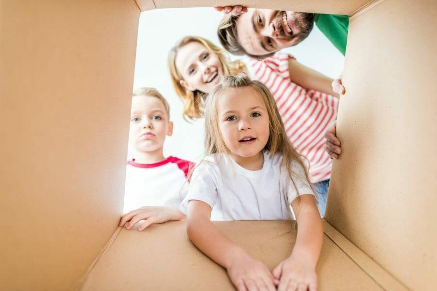 переезд с детьми