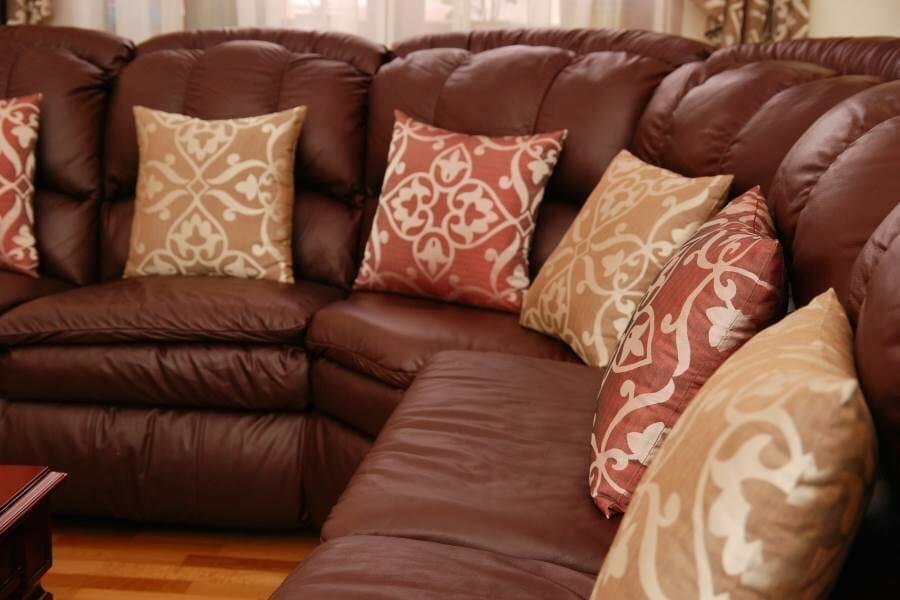 Кожаный диван, упаковка